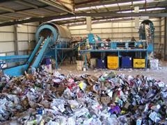 Фабрика по переработке мусора
