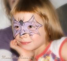 Раскрасить лицо ребенку