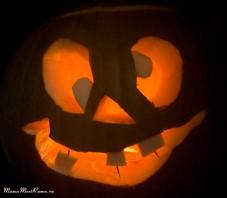 Наша тыква на хеллоуин