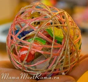 Как мы оформляли подарочки в детский сад
