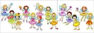 "Рисунок — головоломка ""Сколько же принцесс на самом деле танцует на балу?»"
