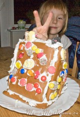 пряничный домик готов