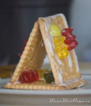 пряничный домик из печенья картинки
