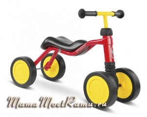 Детский веловипедик-самокат с 1,5 лет, с покачивающейся стойкой