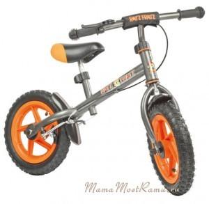 Беговелик - велосипед без педалей, от 3-3,5 лет