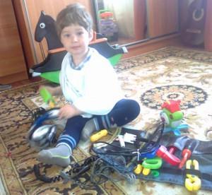 Дело мастера боится, или как Егор в 2 года чинит компьютер
