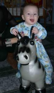Я люблю свою лошадку, причешу ей шёрстку гладко!