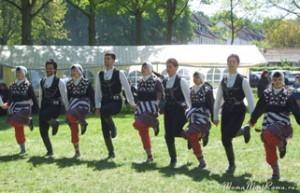 Турецкий праздник, национальные танцы, халай