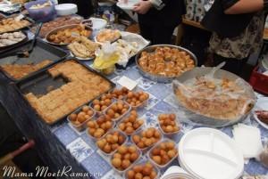 Фото разных турецких сладостей