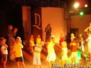 Вечерняя дискотека в Египте