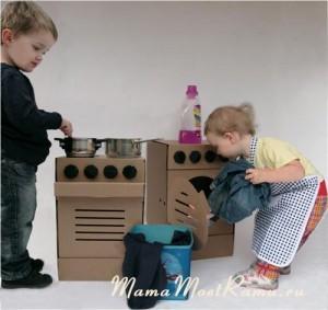 Игрушки для маленьких маминых помощников.
