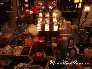 Новогодняя свеча в подарок к празднику